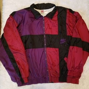 VINTAGE NIKE AIR LARGE COLORBLOCK 90'S WINDBREAKER